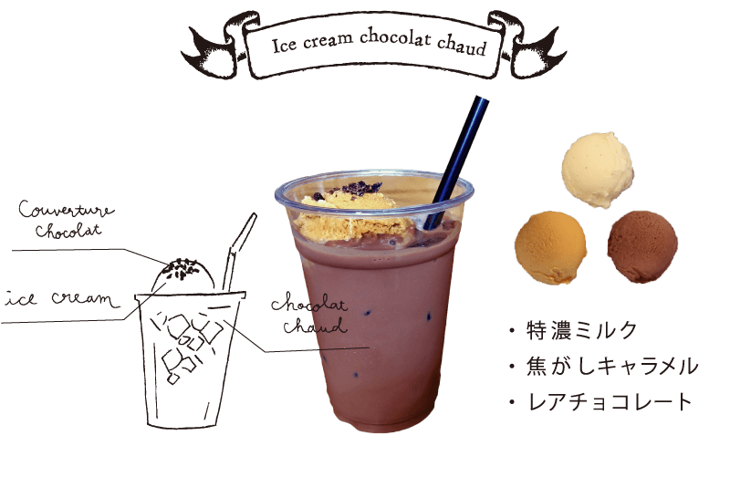アイスクリームショコラショー